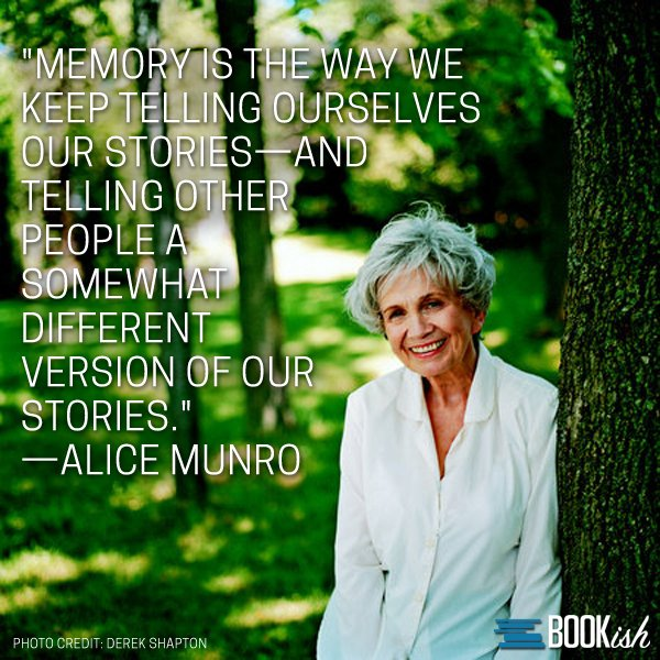 Happy Birthday to Alice Munro!