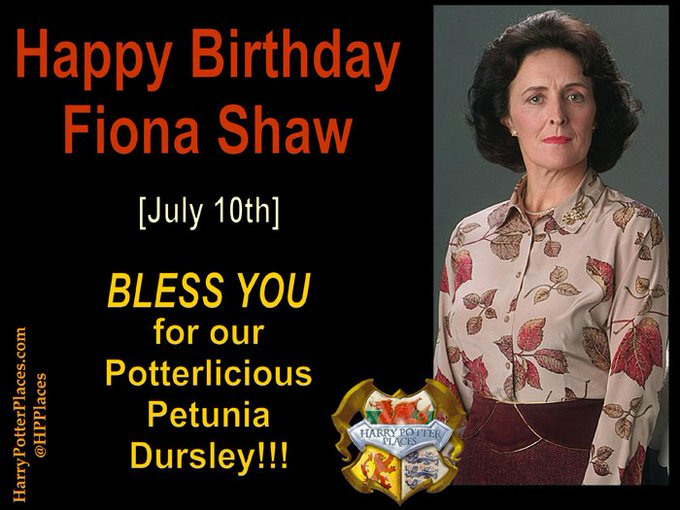 Happy Birthday Fiona Shaw!