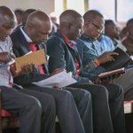 HILARIOUS! See what happened when GIDEON MOI and DP RUTO met in a church in BARINGO.