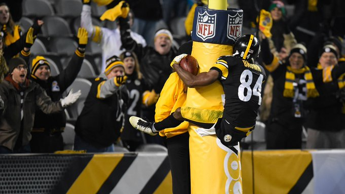 Happy 29th Birthday to Steelers WR Antonio Brown!