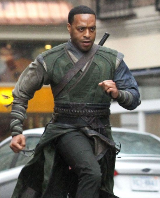 """Happy Birthday to Chiwetel Ejiofor! Seen here in the action flick, \""""Doctor Strange\""""."""