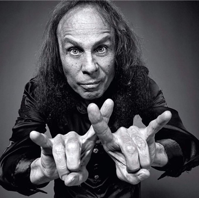 Happy birthday to Ronnie James Dio!