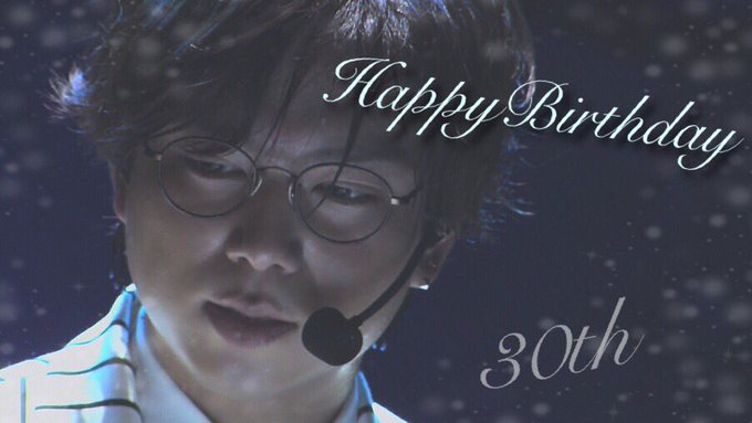 Shigeaki   Kato   Happy Birthday       30