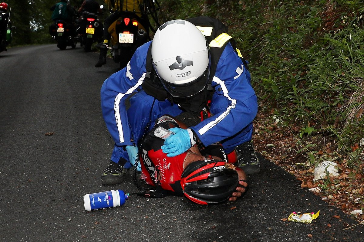 Tour de France organizers blamed for carnage in series of crashes