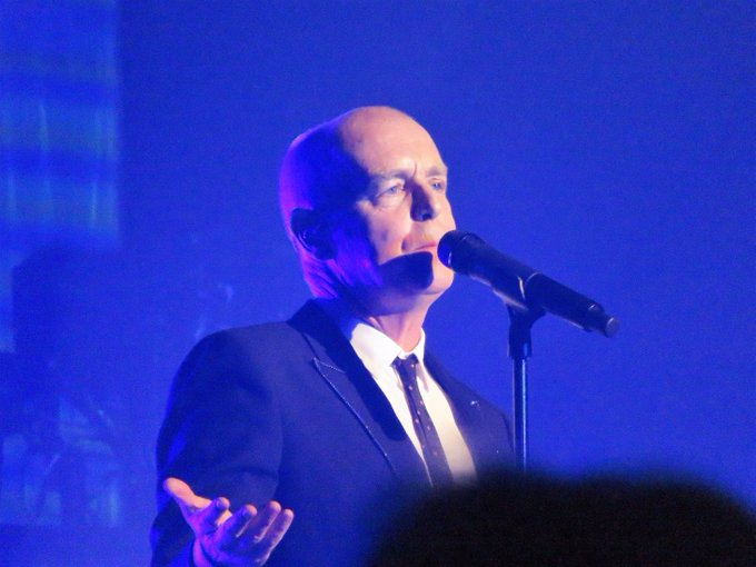 Happy Birthday Neil Tennant of Pic taken at The Chelsea last year