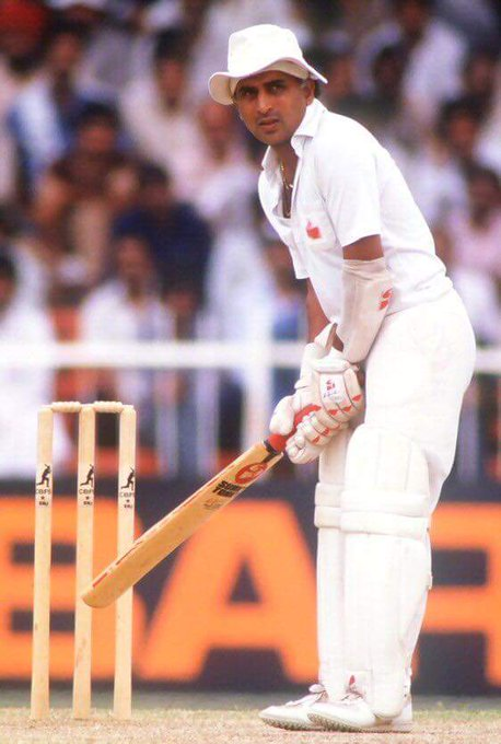 This is the Greatness of Sunil Gavaskar  Happy Birthday Vintage little Master