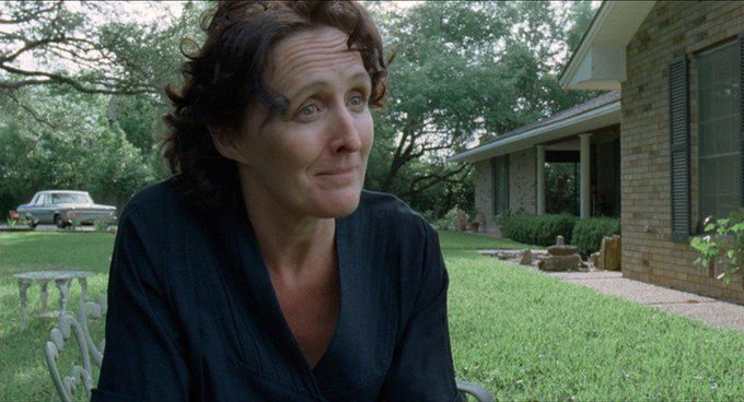 New happy birthday shot What movie is it? 5 min to answer! (5 points) [Fiona Shaw, 59]