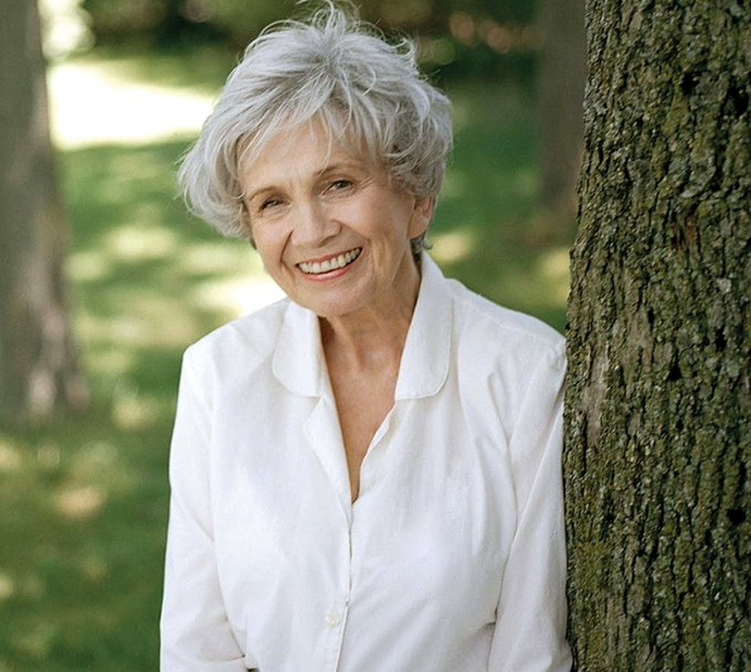 """The constant happiness is curiosity.\""  Happy birthday to the great Alice Munro!"
