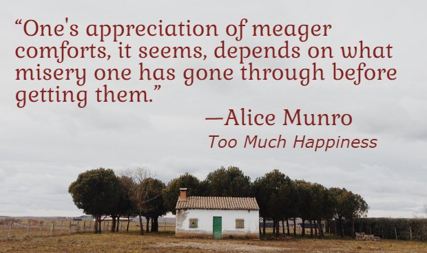 Happy 86th birthday, Alice Munro!   (image via 2016)