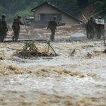 Deadly floods sweep Japan