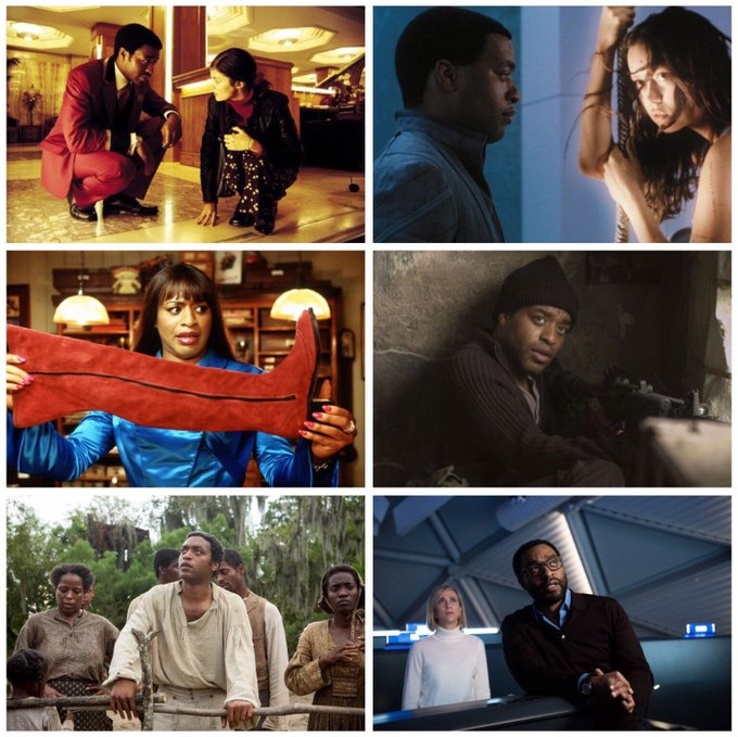 Happy 40th birthday to Chiwetel Ejiofor! Favourite performances?