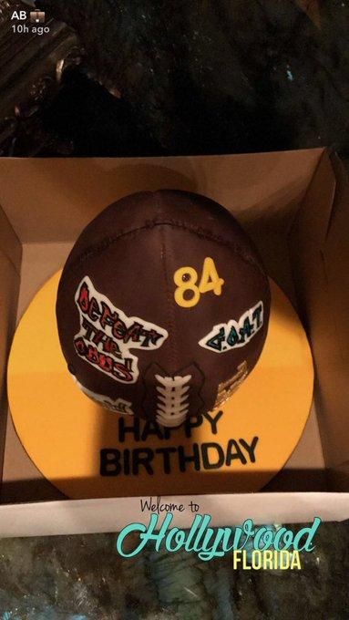 Happy birthday, (via Antonio Brown / SC)