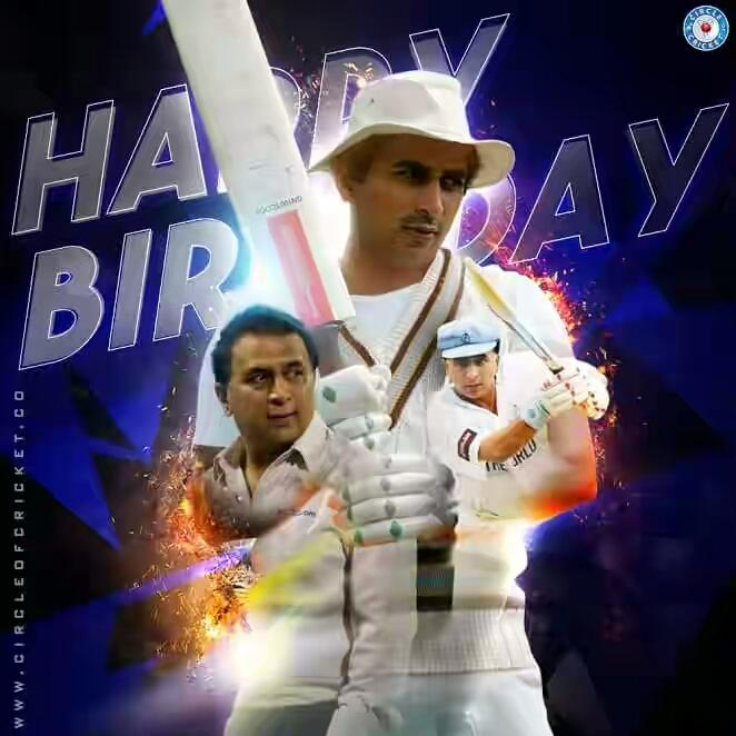 Happy Birthday to Little Master_Sunil Gavaskar_sir