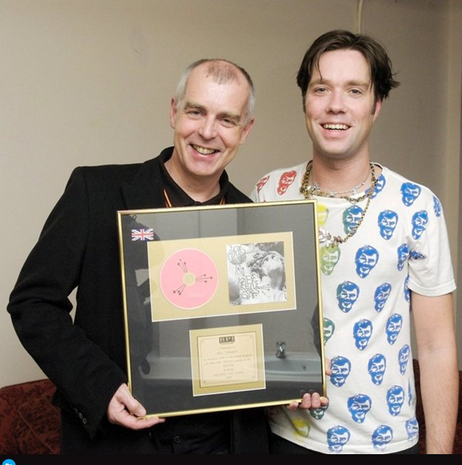Happy Birthday to my friend Neil Tennant!