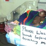 Handwashing saving newborns at Lira Hospital