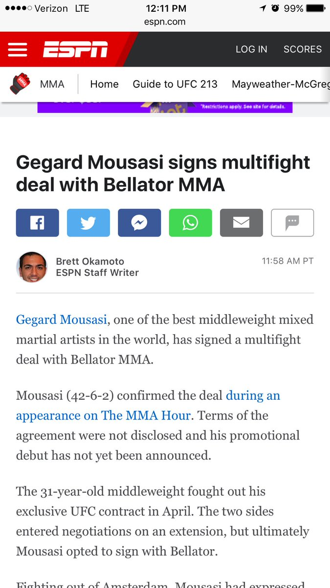 @ufc not taking care of its fighters. @mousasi_mma get yours homie. #FukUPayMe https://t.co/Xy2x0WOjDC
