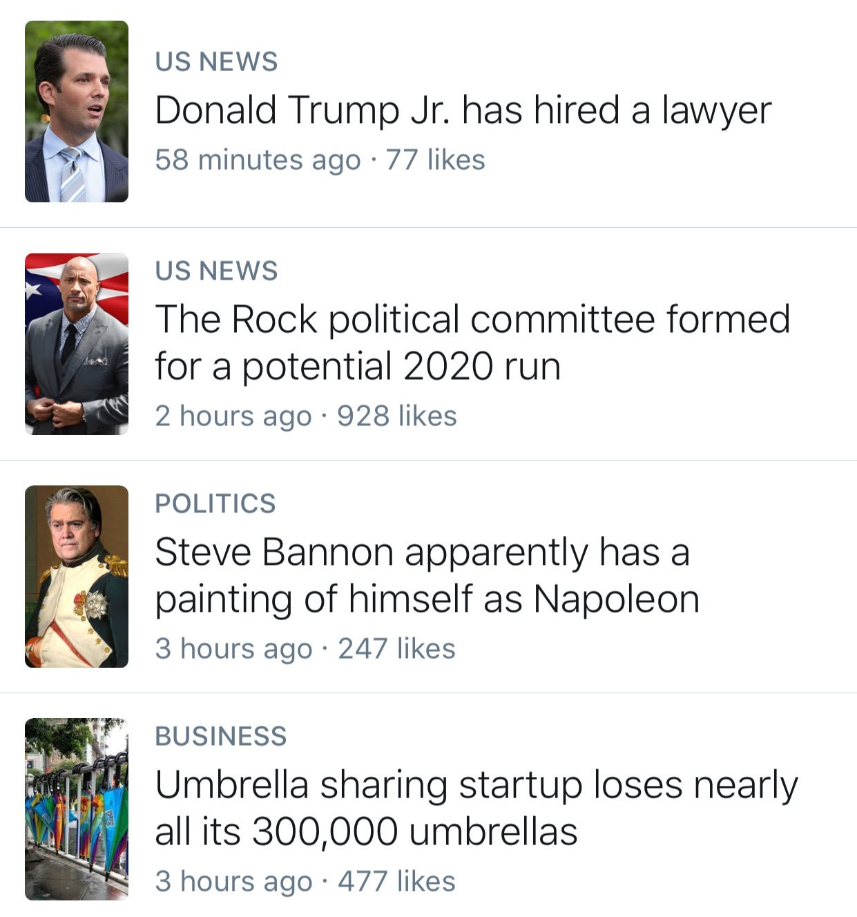 Saving this screenshot for when my grandkids ask me what 2017 was like. https://t.co/oFt0Nm86wP