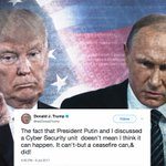 Trump walks back joint U.S.-Russia 'impenetrable cyber security unit'