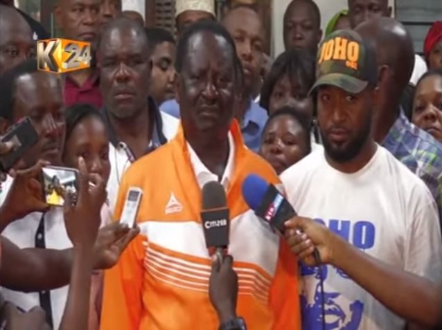 NASA presidential candidate Odinga discharged from hospital