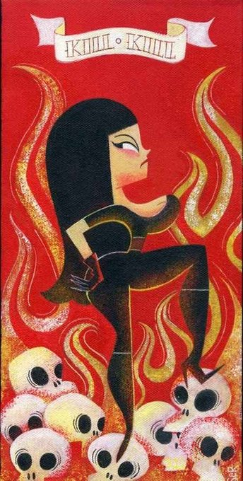 Happy birthday Tura Satana!!! art by Sandra Equihua