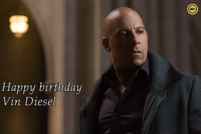 Happy birthday to Hollywood superstar, Vin Diesel!!!