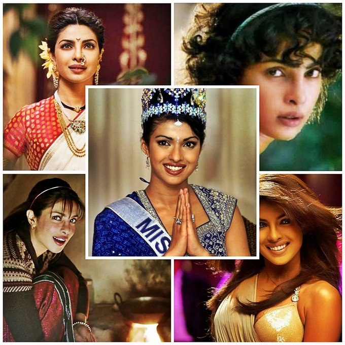 Wishing Bollywood\s desi girl Priyanka Chopra a very happy birthday.