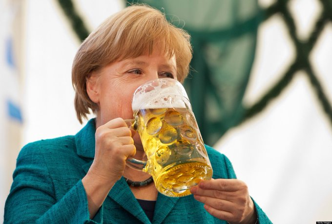 Happy Birthday German politician, and the Chancellor of Germany since 2005, Angela Merkel (July 17, 1954- )