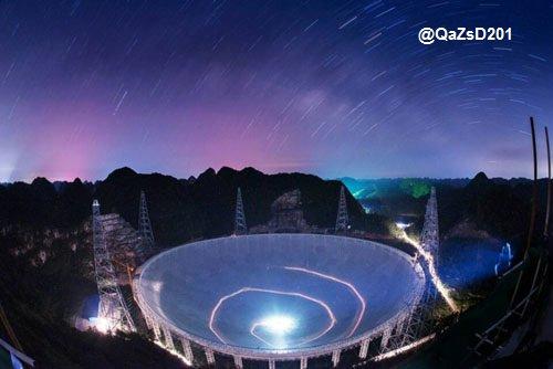 تلسكوب لاسلكي العالم