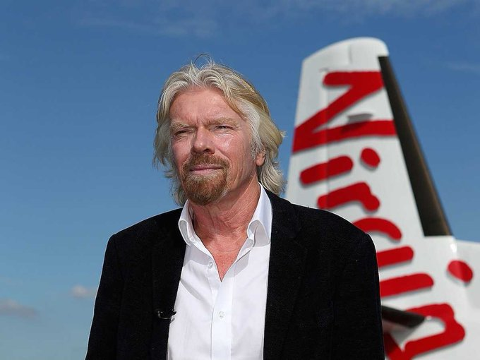 Happy Birthday to Richard Branson who turns 67 today!