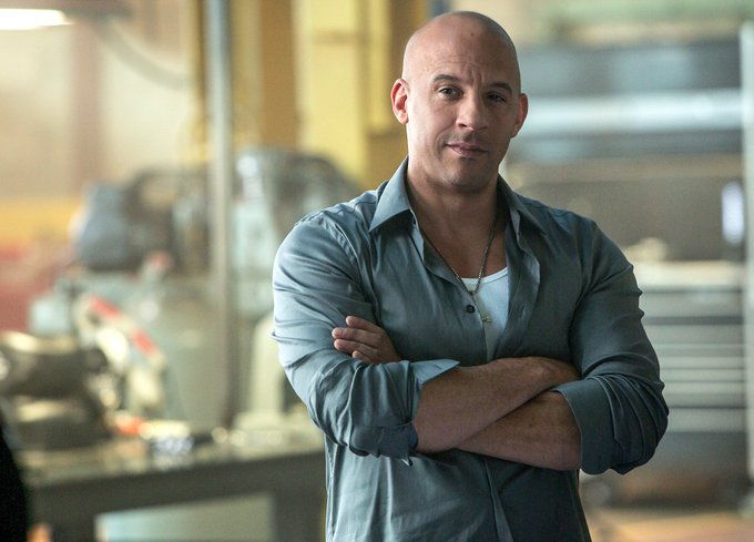 Happy Birthday to Vin Diesel, who turns 50 today!