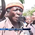 Residents in Kajiado plead for water assistance from gov't