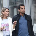 A blossoming relationship for Manchester United star Henrikh Mkhitaryan and ex-WAG Jude Cisse