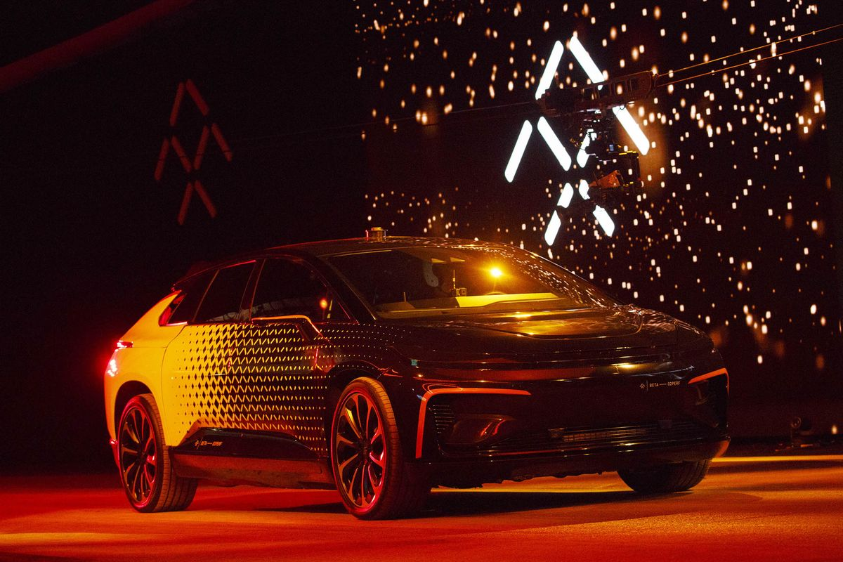 "TFTCS: RT BloombergTV ""Faraday Future halts plans to build a $1 billion..."