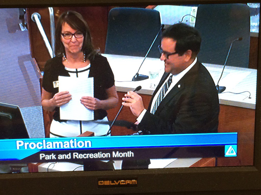 Park & Recreation Month proclaimed tonight, so check out all the activities at https://t.co/moBg4n3KVj. https://t.co/c0vmZ3n4Gt