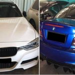 Two arrested for illegal street racing at Lim Chu Kang