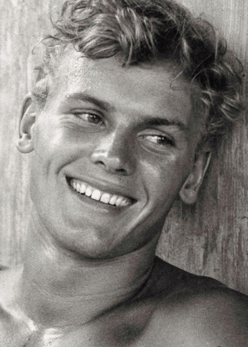 Happy birthday to the 1950\s male pinup, who went on to star with Divine, the stunning Tab Hunter
