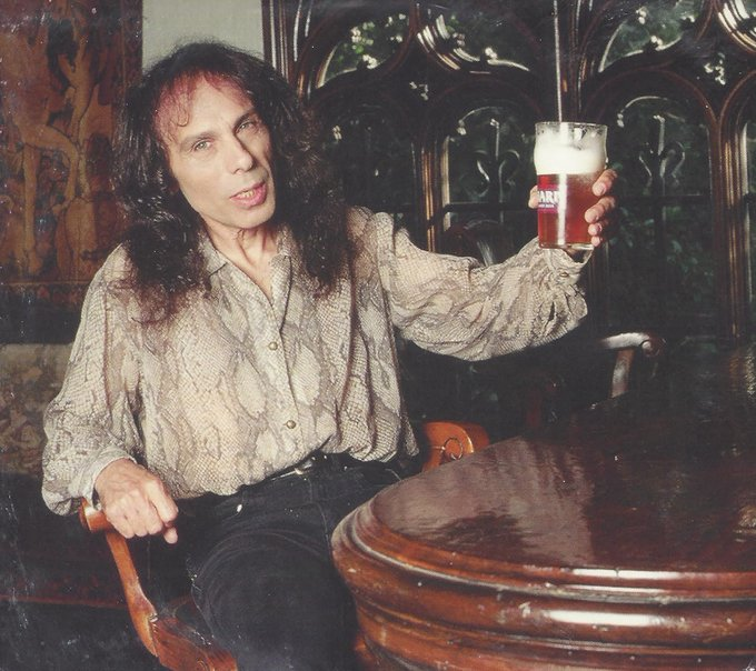 Happy Birthday American singer, songwriter, and musician Ronnie James Dio (July 10, 1942 May 16, 2010)