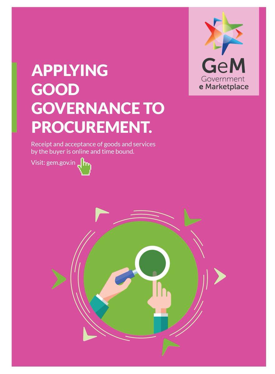 RT @CimGOI: #GeMIndia symbolises the commitment of the govt towards transparency & good governance https://t.co/zJfT8LjiOz