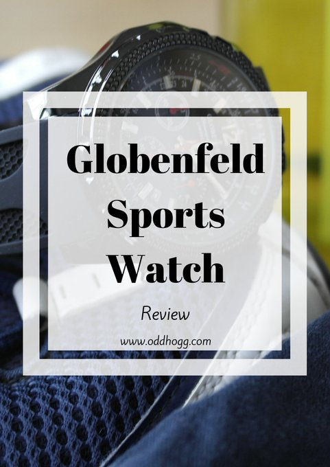 Globenfeld Men's Chronograph Sports Watch Review + *Giveaway*