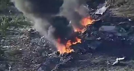 """""""Most"""" bodies recovered after military plane crashes with 16 on board in Mississippi"""