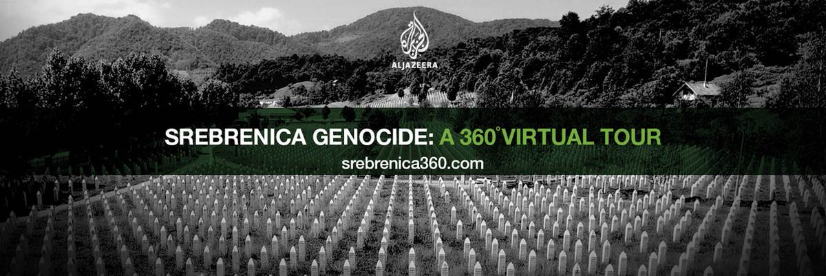 Srebrenica: 22 years since Europe's last genocide.   A 360 virtual tour: