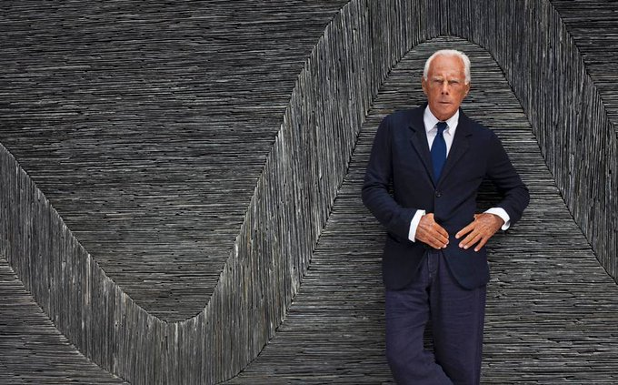Happy birthday, Giorgio Armani! 8 things you didn t know about the fashiondesigner