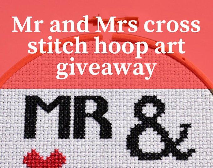 Win a handmade wedding gift