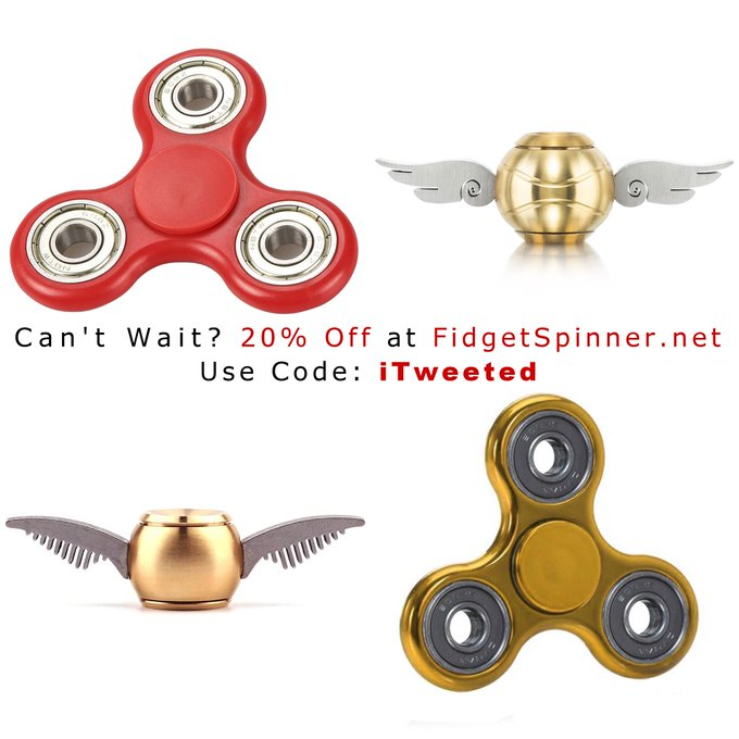 FREE Spinners From Amazon By FidgetSpinner.net
