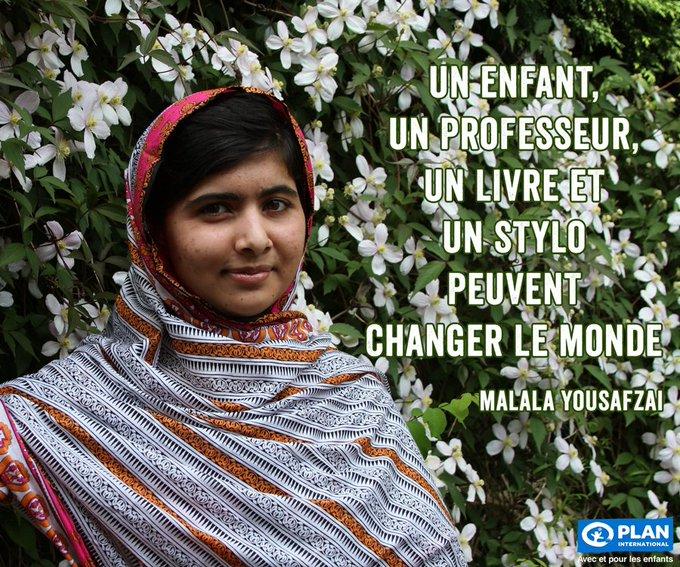 Happy Birthday Malala Yousafzai !
