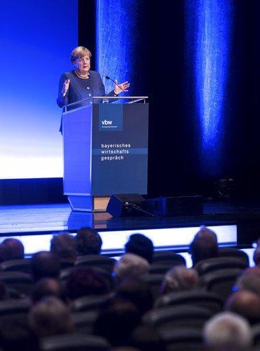 Merkel reiterates support for US-EU trade deal