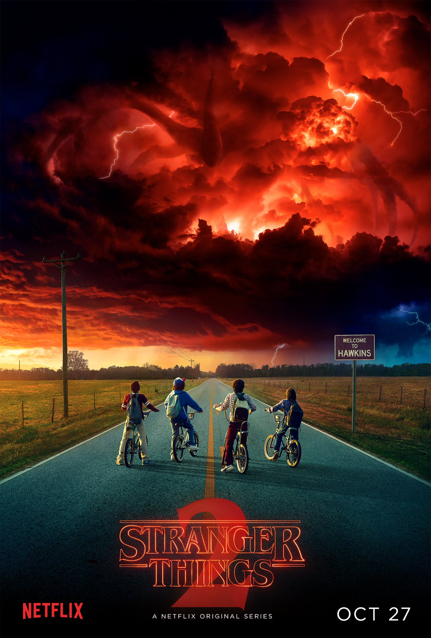 Some doors can't be closed. @Stranger_Things season 2. October 27. https://t.co/8Ewfyy4lcA