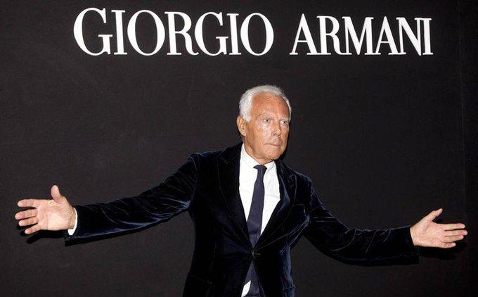 ¡Happy Birthday Giorgio Armani!   Eres el Must Have de nuestro closet