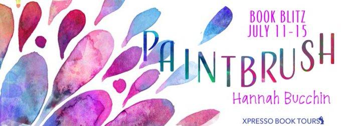 Book Blitz #Giveaway Paintbrush by Hannah Buchin