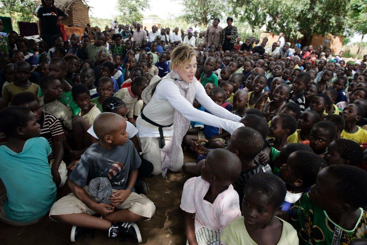 Madonna inaugure un hôpital pédiatrique au Malawi
